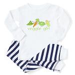 Veggie Girl Toddler Pajamas