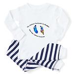 My Carbon Footprint Smaller Toddler Pajamas