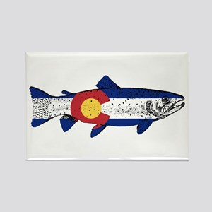 Fish Colorado Magnets