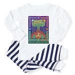 Celtic Tree Of Life Toddler Pajamas