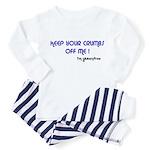 KEEP YOUR CRUMBS OFF ME! Toddler Pajamas