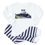trains -Toddler Pajamas - Future Engineer