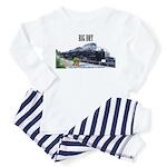 trains -Toddler Pajamas - Future Engineer