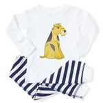 Airedale Terrier Toddler Pajamas