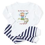 Funny Goat Berries Toddler Pajamas