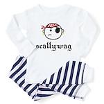 scallywag (with graphic) Toddler Pajamas