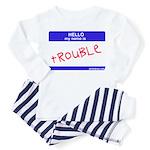 trouble Toddler Pajamas