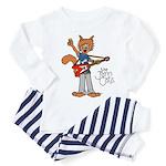 The Jam Cats Toddler Pajamas