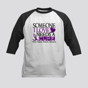 Needs A Cure ANOREXIA Kids Baseball Jersey
