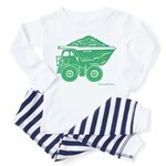 Dump Truck Toddler Pajamas