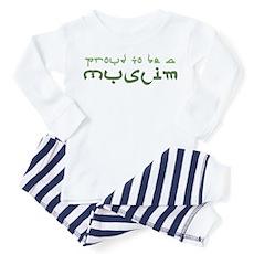Proud To Be A Muslim Toddler Pajamas