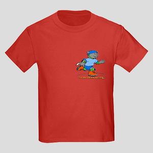 Rollerblading Kids Dark T-Shirt