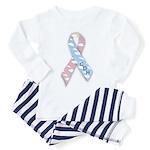 CDH Awareness Ribbon Toddler Pajamas