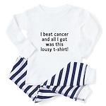 Cancer - Lousy Pajamas Toddler Pajamas