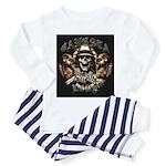 Gangsta Love Toddler Pajamas