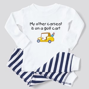 My Other Carseat is on a Golf Cart Toddler Tee