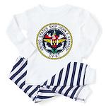 USS JOHN F. KENNEDY Toddler Pajamas
