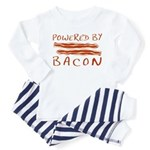 Powered By Bacon Toddler Pajamas