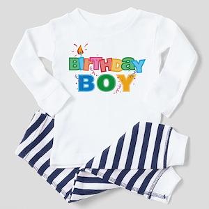 Birthday Boy Letters Toddler Pajamas