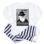 Viva Darwin Evolucion Toddler Pajamas