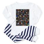 Hubble Space Telescope Toddler Pajamas