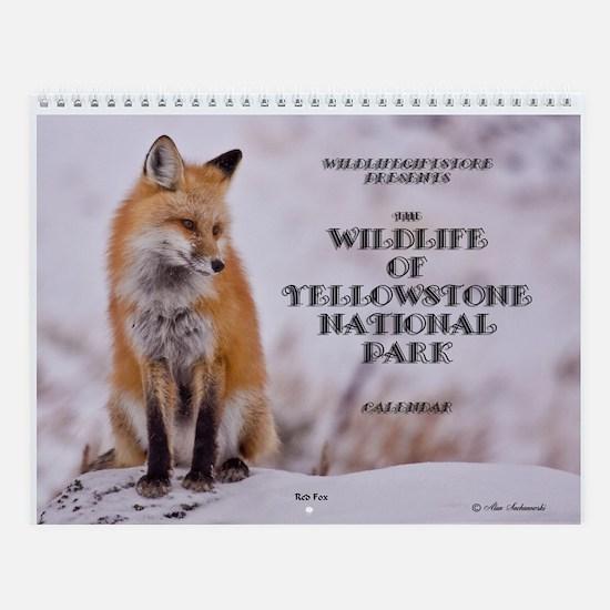 ''Yellowstone Wildlife'' Wall Calendar