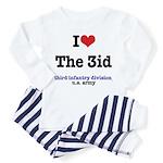 I (Heart) the 3id - Toddler Pajamas
