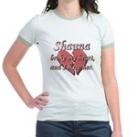 Shauna broke my heart and I hate her Jr. Ringer T-