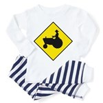 Tractor Crossing Sign - Toddler Pajamas