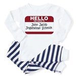 Jingleheimer Schmidt Toddler Pajamas