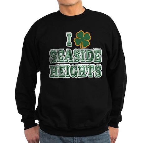 I Shamrock Seaside Heights Sweatshirt (dark)