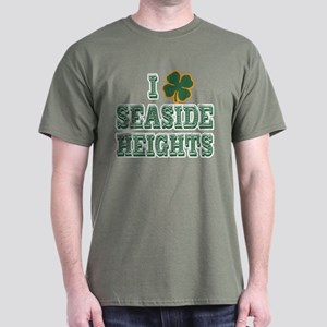 I Shamrock Seaside Heights Dark T-Shirt