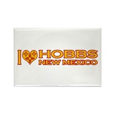 I Love Hobbs, NM Rectangle Magnet