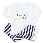 Cancer Sucks Toddler Pajamas