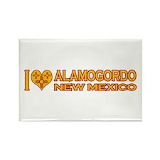 I Love Alamogordo, NM Rectangle Magnet