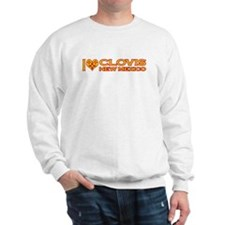 I Love Clovis, NM Sweatshirt