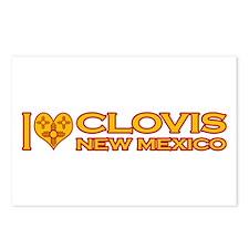I Love Clovis, NM Postcards (Package of 8)