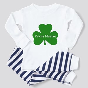 CUSTOM Shamrock with Your Name Pajamas