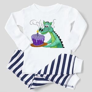 Birthday Dragon Toddler Pajamas