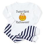 Twins First Halloween Toddler Pajamas