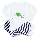 I Love St. Patrick's Day Toddler Pajamas