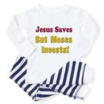 Jesus Saves but Moses Invests Toddler T-Shi