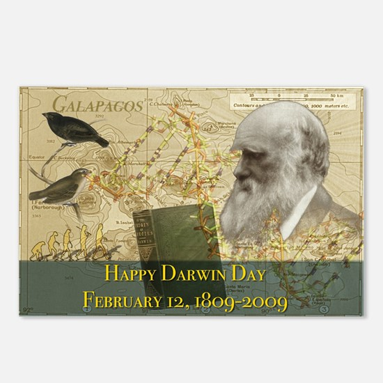 Darwin Day 2009 Postcards (Package of 8)