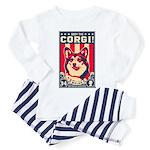 Obey the CORGI! Toddler Pajamas
