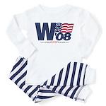 """""""W '08"""" Toddler Pajamas"""