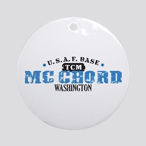 McChord Air Force Base Ornament (Round)