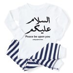 Peace be upon you Arabic Toddler Pajamas