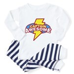 Captain Awesome Toddler Pajamas
