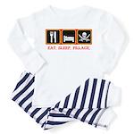 Eat. Sleep. Pillage. Toddler Pajamas