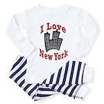 I Love New York Toddler Pajamas